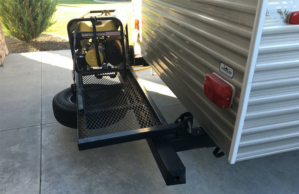 3 Best Solutions For Mounting A Generator To A Trailer