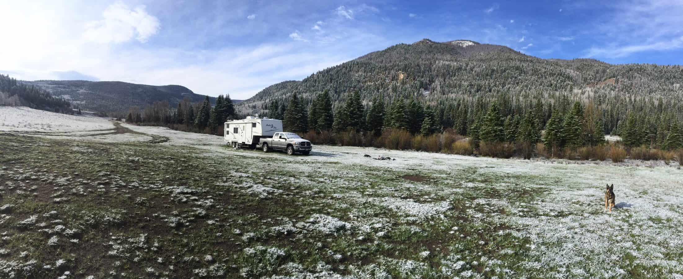 extreme cold RVs