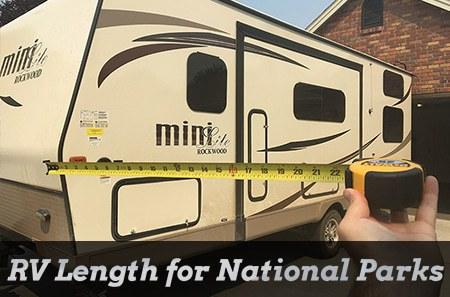 RV Lengths for National Parks