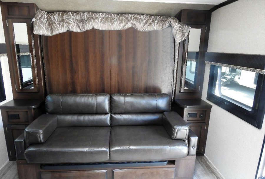 Surprising 9 Great Travel Trailers With Murphy Beds Camper Report Ocoug Best Dining Table And Chair Ideas Images Ocougorg
