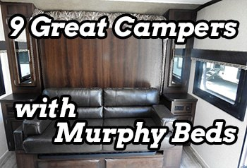 9 Great Travel Trailers With Murphy Beds Camper Report