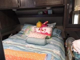 The trailer bedroom