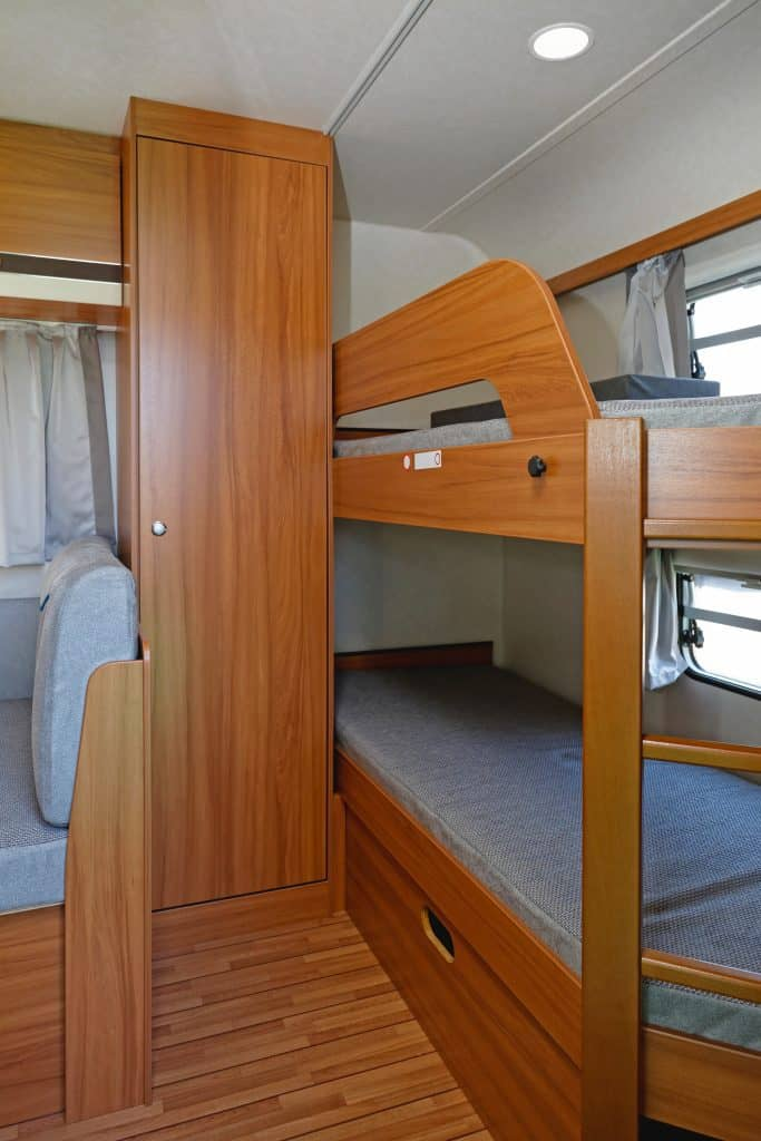 Picture of: 8 Awesome Motorhomes With Bunk Beds Camper Report