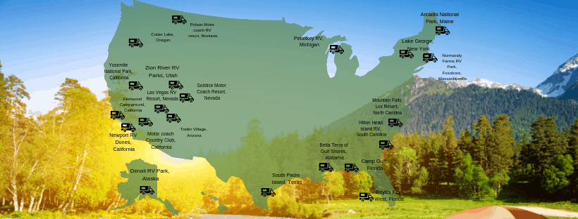 21 Incredible Rv Parks In The Usa Including Some Hidden Gems