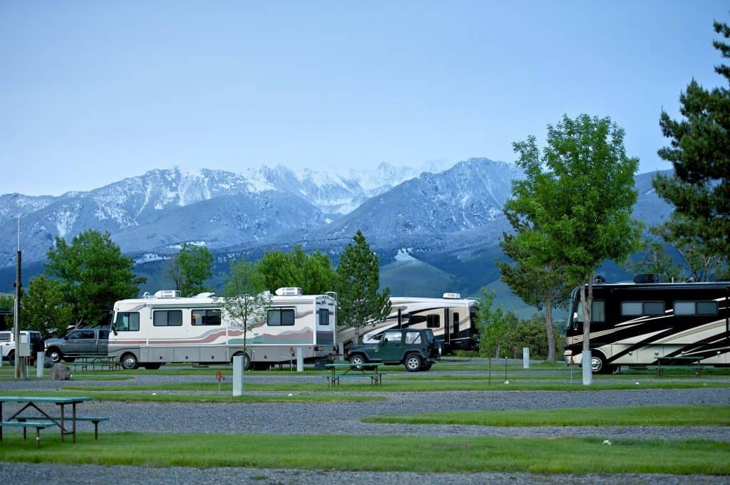 17 Unforgettable Rv Camp Spots In Montana Both Parks And Rustic Camper Report