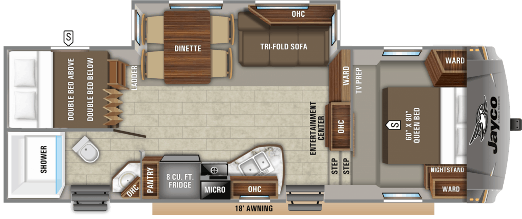 Our Favorite Fifth Wheel Floor Plans With 2 Bedrooms Camper Report