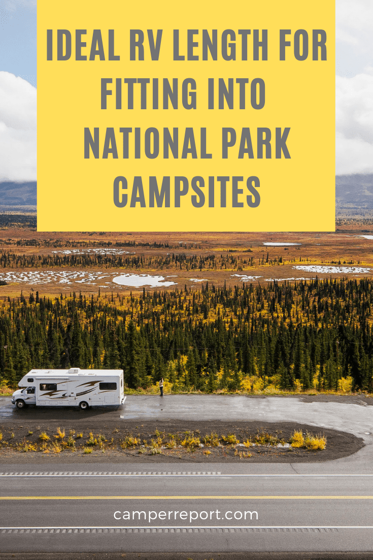 best RV size for national park campsites