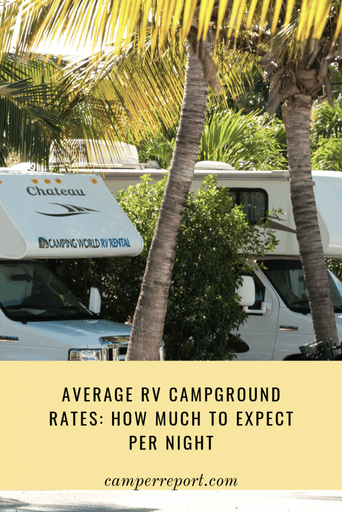 Average RV Campground Rates: How Much to Expect Per Night – Camper