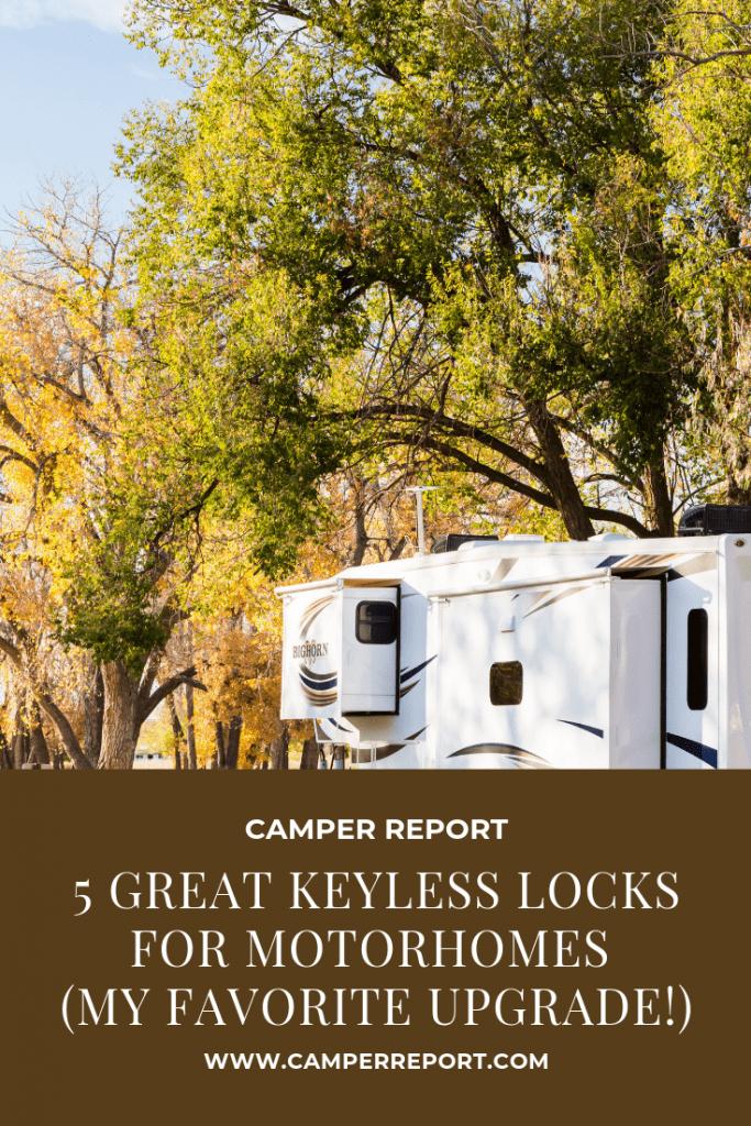 5 Great Keyless Locks for Motorhomes