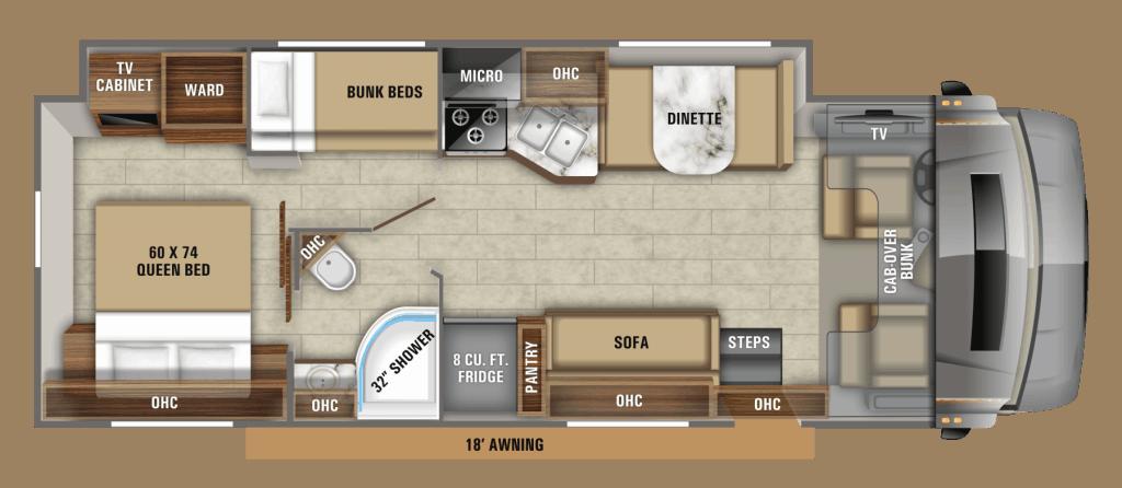 Jayco Greyhawk floorplan.