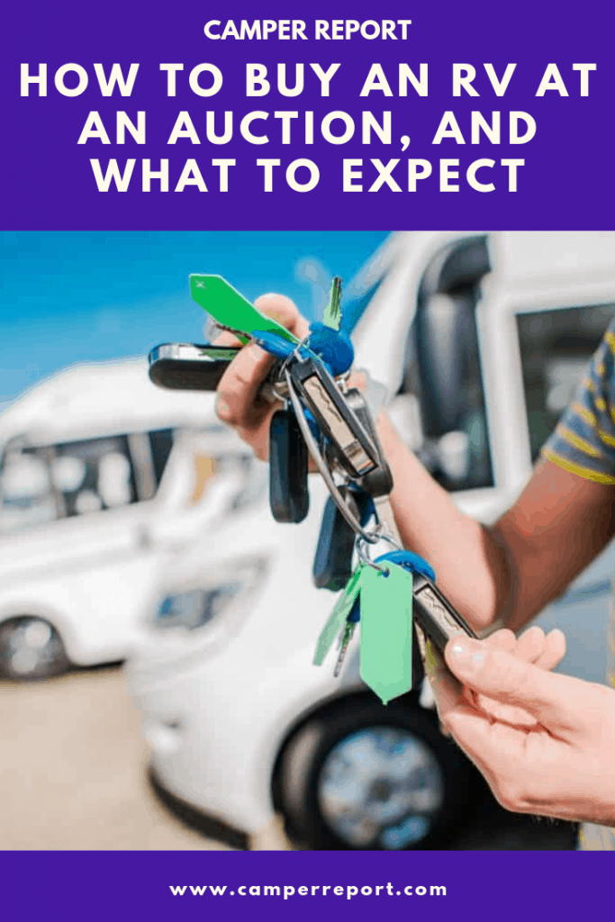 Best Buy Auction >> How To Buy An Rv At An Auction And What To Expect Camper