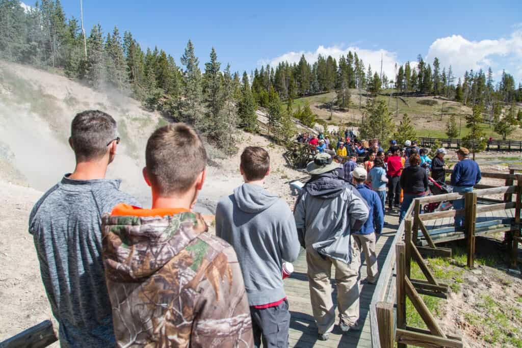 Avoid these national parks during peak season. Photo via Wikipedia Creative Commons