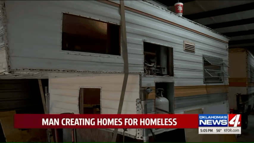 RVs for homeless people