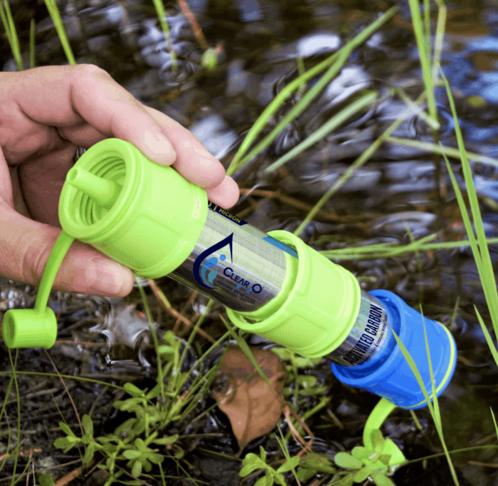 PWF850 Personal Water Filter is perfect for hiking or backpacking whether RVing or not