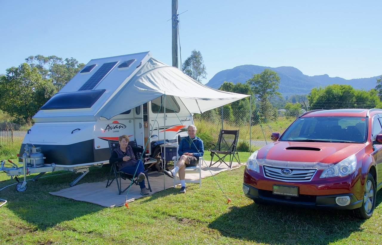 folding camping chairs - Photo by Siggy Nowak