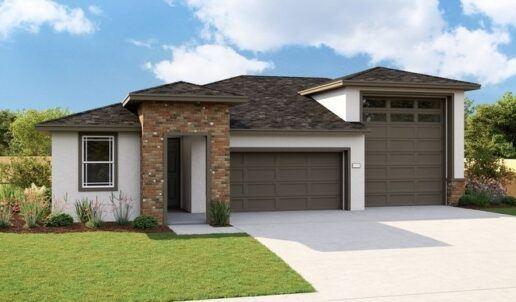 RV garage - Ranch Style Model