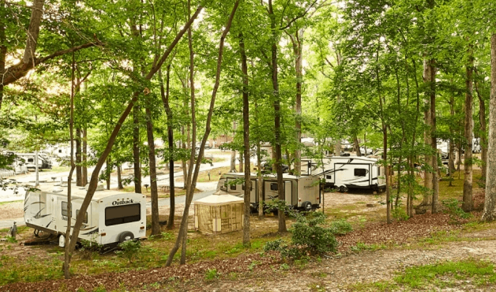 Thousand Trails Williamsburg RV & Camping Resort