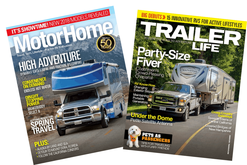 Motorhome and Trailer Life Magazine