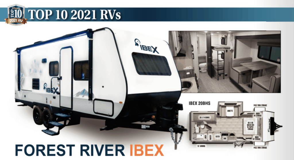 Top 10 RV - Forest River IBEX