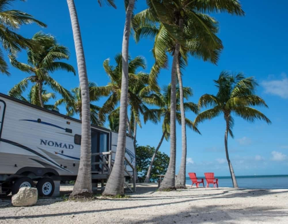 Sunshine Key RV Resort beach campsite