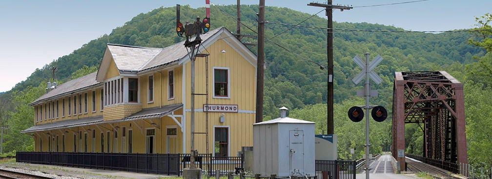 Historical Thurmond, West Virginia