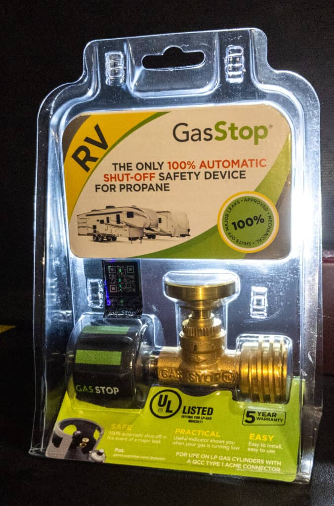 The ACME version of GasStop in the package