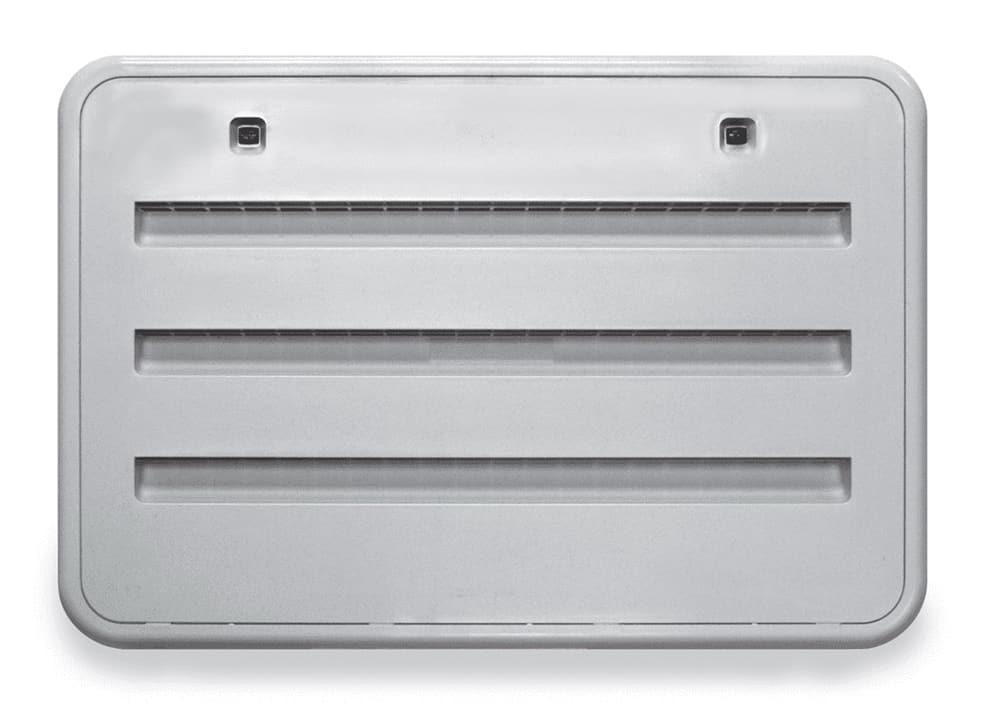 Typical RV refrigerator vent.