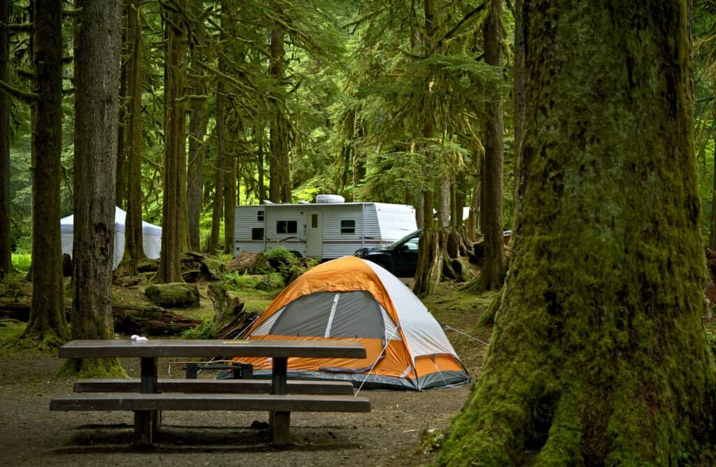 Finding campground availability just takes a little research