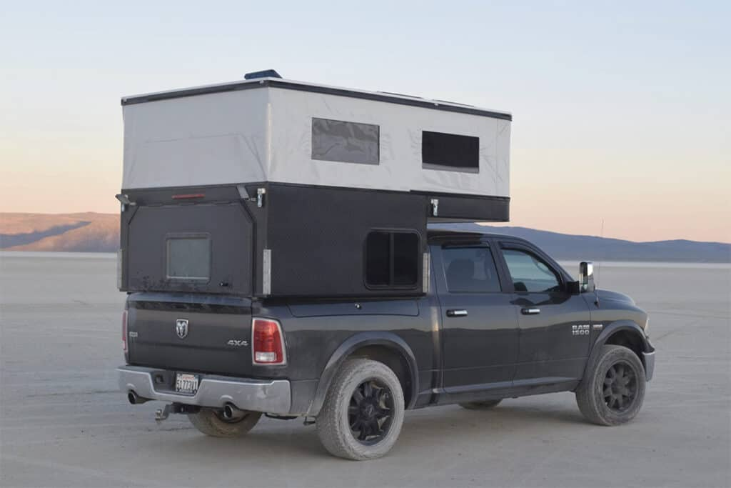 Four Wheel Project Topper as a Ford F-150 truck camper