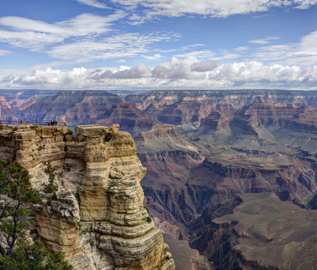 Picturesque view of Grand Canyon National Park