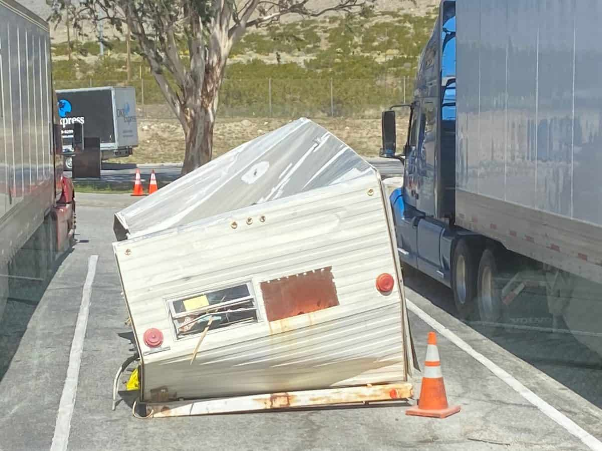 camper water damage