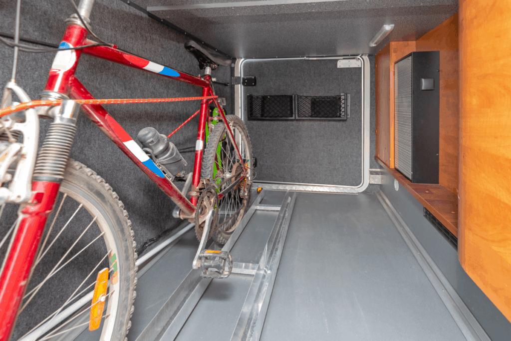 valuables in storage compartment - camper door lock