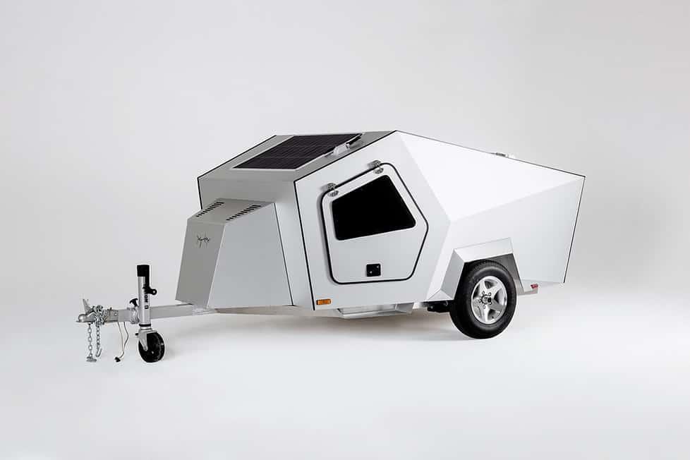 Polydrops P17A tear drop trailer