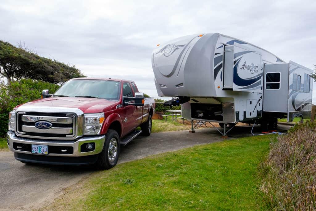 Travel Trailer Beginners Camping