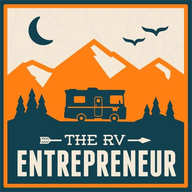 The RV Entrepreneur podcast logo