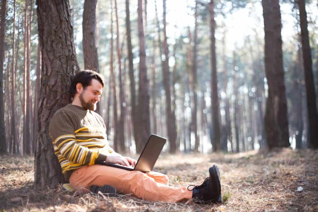 The woods can be your office with the right internet solution