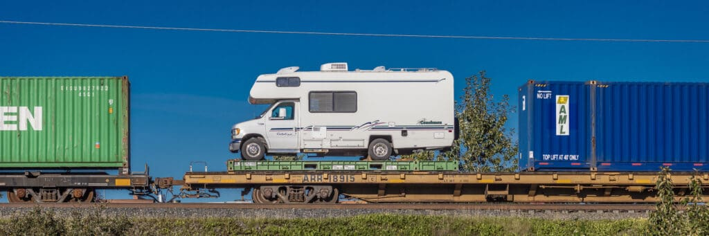 cost to ship an RV