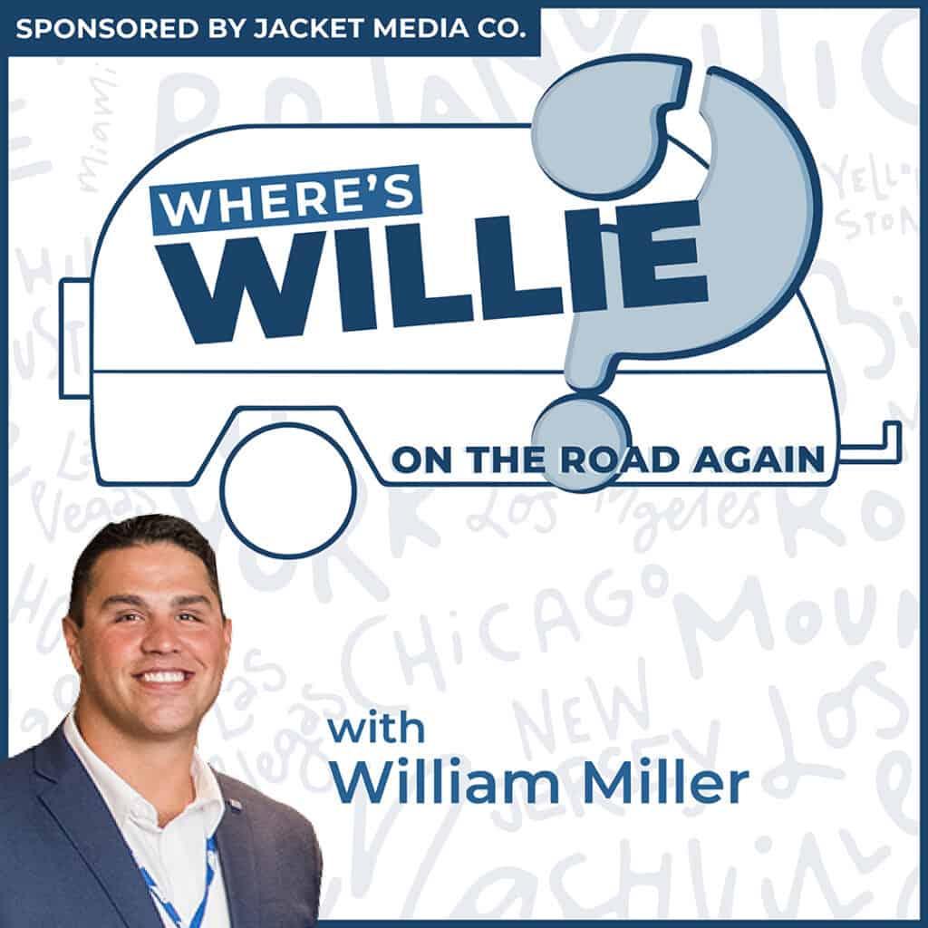 Where's Willie podcast cover photo - RV podcast