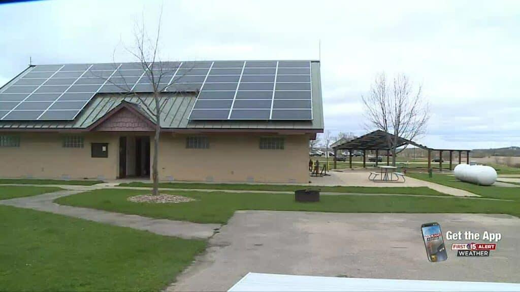 solar power at RV park