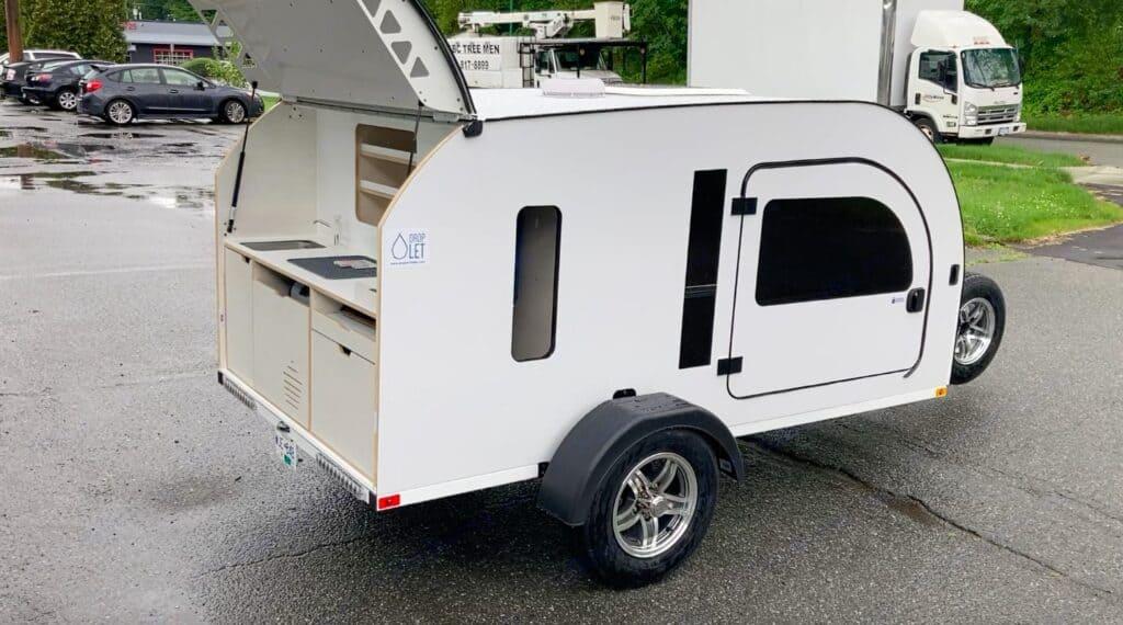 droplet XL teardrop trailers