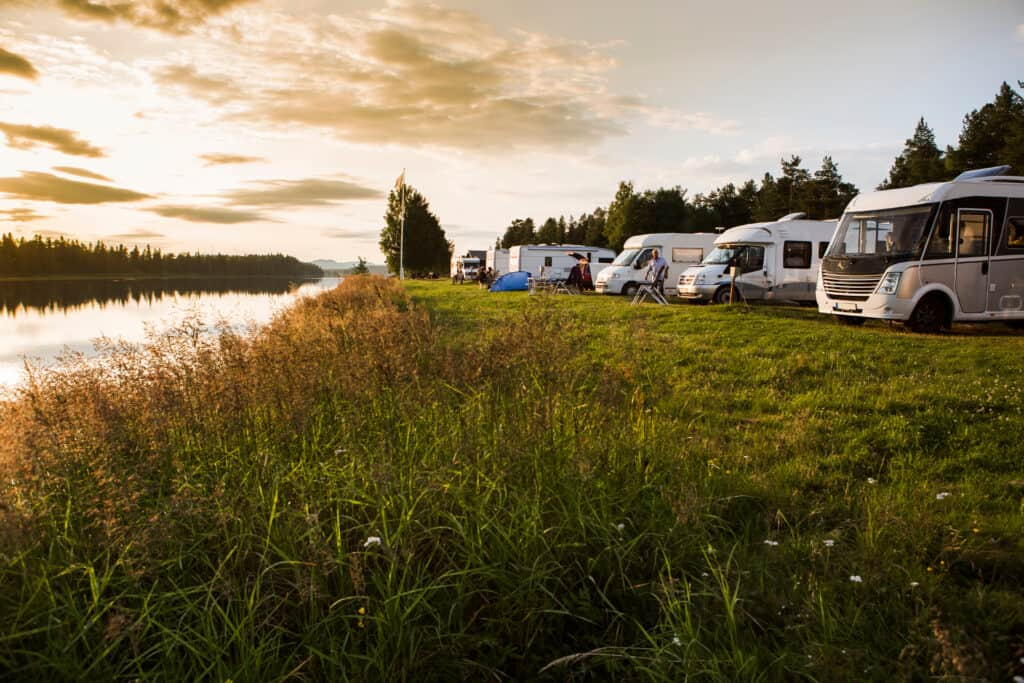 dry RV camping