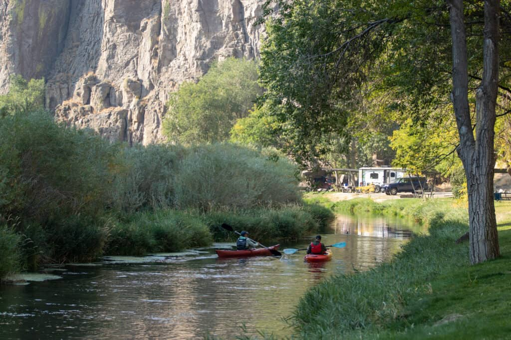 best RV camping sites in Idaho