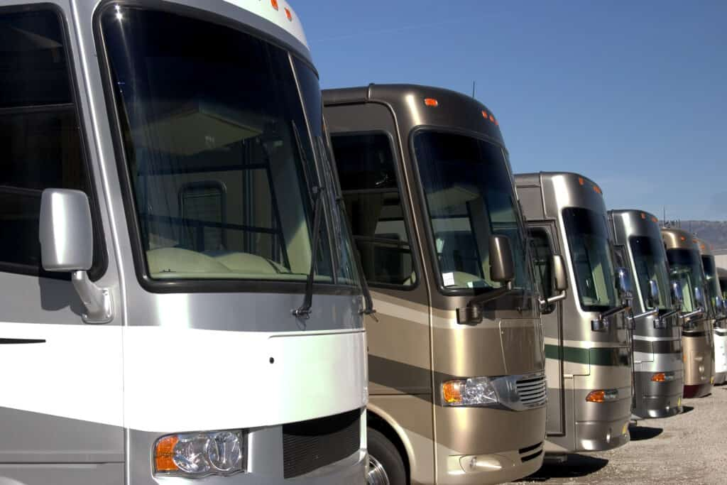 RVs at dealership - is there an RV shortage?