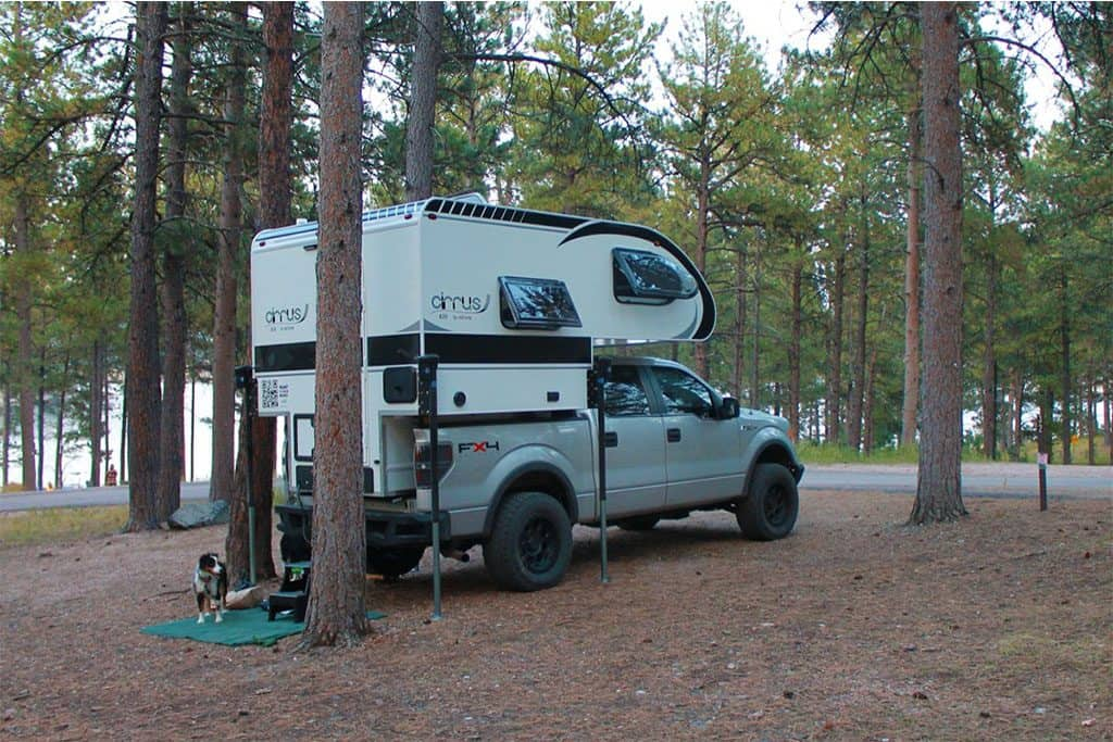 cirrus, one of the best truck camper models