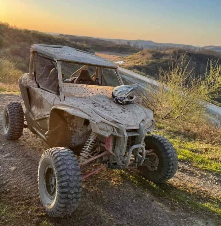 ATV at ATV campground