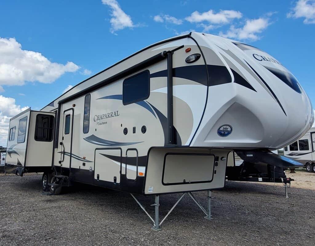Coachmen Chaparral 360IBL best two bedroom fifth wheel RV