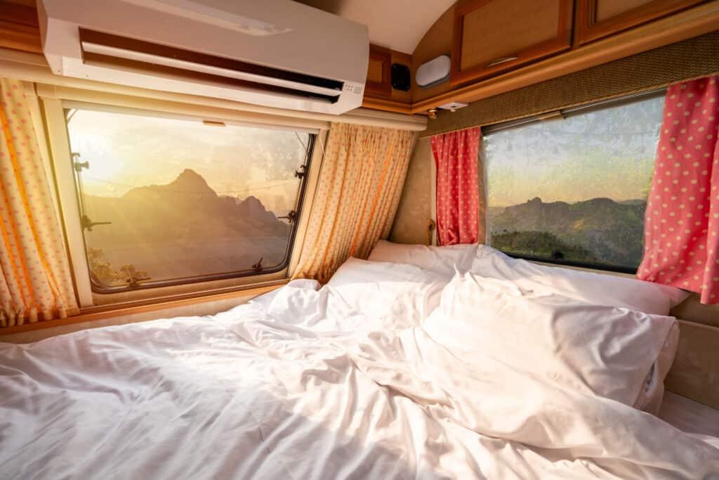 Camper mattress in RV